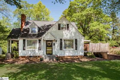Easley Single Family Home For Sale: 102 Parkway