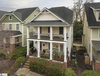 Greenville SC Single Family Home For Sale: $499,900