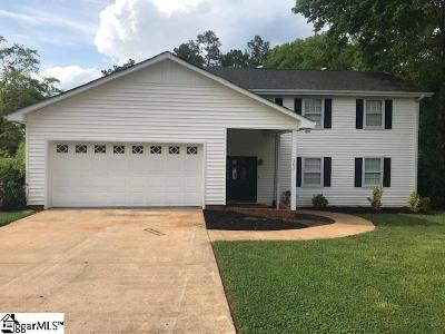 Anderson Single Family Home For Sale: 303 Edgewater