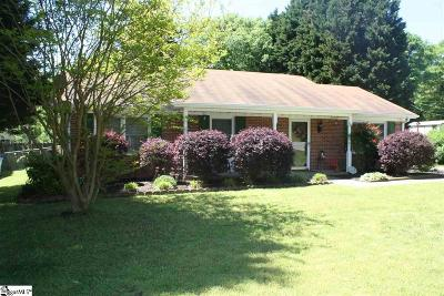 Simpsonville Single Family Home For Sale: 232 Brookmere