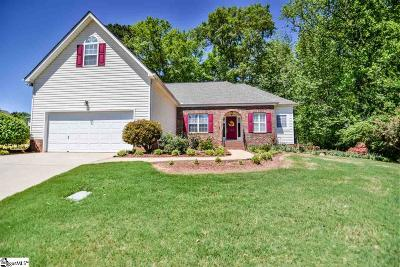 Simpsonville Single Family Home For Sale: 106 Walkingstick