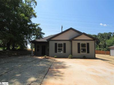 Easley Single Family Home For Sale: 393 W 2nd
