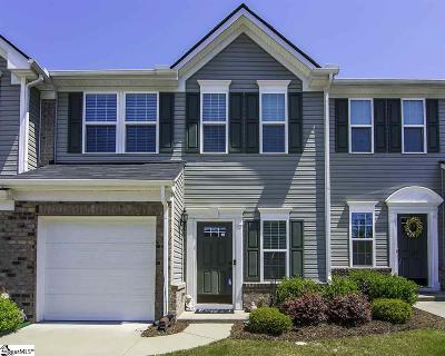 Greenville County Condo/Townhouse For Sale: 475 Woodbark