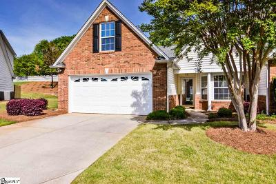 Greenville County Condo/Townhouse For Sale: 117 High Crest