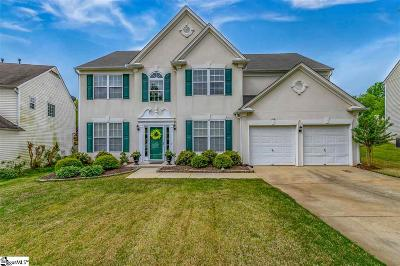 Simpsonville Single Family Home For Sale: 104 Bay Hill
