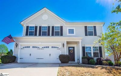 Simpsonville Single Family Home For Sale: 212 Wateree