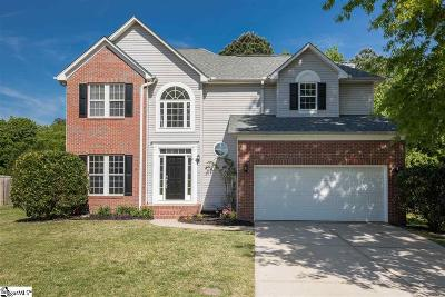 Simpsonville Single Family Home For Sale: 25 N Orchard Farms