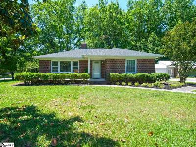 Simpsonville Single Family Home For Sale: 308 Howard