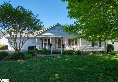 Greenville Single Family Home For Sale: 119 Treebrooke