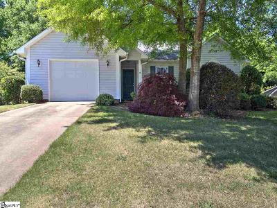 Greenville Single Family Home For Sale: 101 Stonington