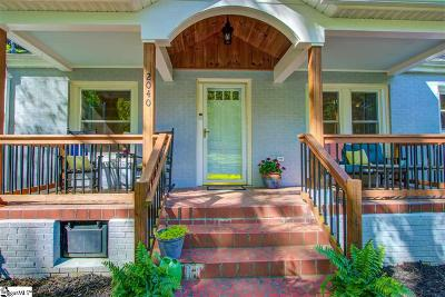 Greenville Single Family Home For Sale: 2040 Cleveland Street