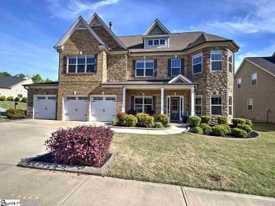 Simpsonville Single Family Home For Sale: 120 Candleston
