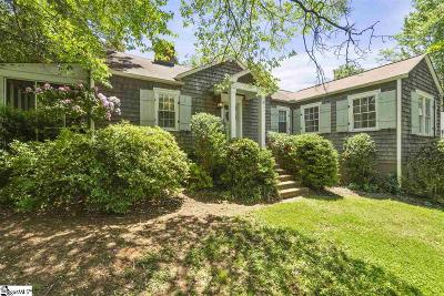 Greenville Single Family Home For Sale: 305 Melville