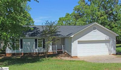 Simpsonville Single Family Home For Sale: 102 Waterbury