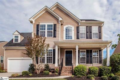 Simpsonville Single Family Home For Sale: 30 Ridgeleigh