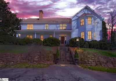 Spartanburg Single Family Home For Sale: 150 Zimmerman Lake