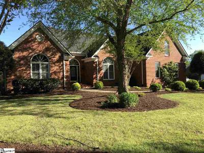 Simpsonville Single Family Home For Sale: 23 English Oak