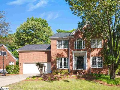 Greenville County Single Family Home For Sale: 17 Bentley