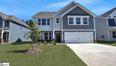 Simpsonville Single Family Home For Sale: 212 Raleighwood