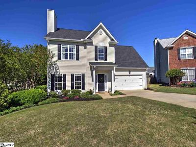 Simpsonville Single Family Home For Sale: 309 Schooner