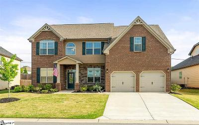 Simpsonville Single Family Home For Sale: 304 Stoneleigh