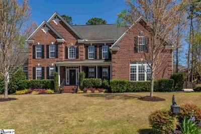 Simpsonville Single Family Home Contingency Contract: 237 Highgrove