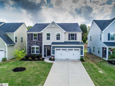 Simpsonville Single Family Home For Sale: 420 Fieldsview