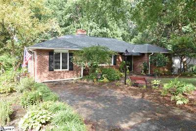 Greenville Single Family Home For Sale: 32 Blackburn
