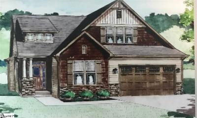 Greer Single Family Home Contingency Contract: 75 River Pines