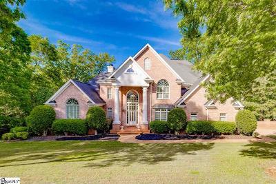 Greenville Single Family Home For Sale: 515 Spaulding Lake