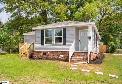 Greenville SC Single Family Home For Sale: $229,000