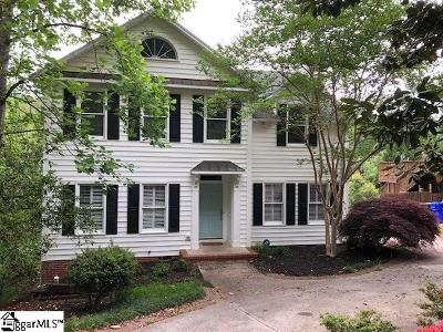 Greenville Single Family Home Contingency Contract: 335 Pine Forest