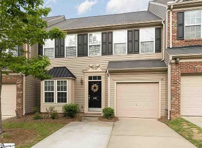Greenville SC Condo/Townhouse For Sale: $215,000