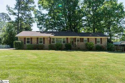 Greenville SC Single Family Home For Sale: $194,500