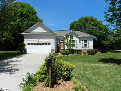 Simpsonville SC Single Family Home For Sale: $219,000