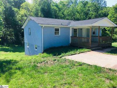 Greenville SC Single Family Home For Sale: $75,000