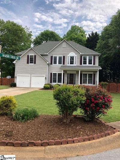 Mauldin SC Single Family Home For Sale: $249,900
