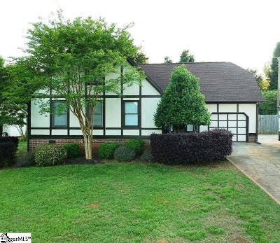 Greenville SC Single Family Home For Sale: $170,000