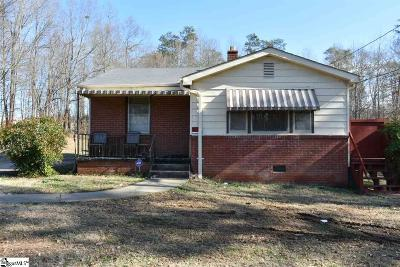 Taylors Single Family Home For Sale: 335 Blacktop