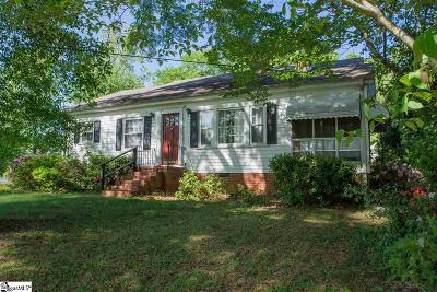 Laurens Single Family Home Contingency Contract: 718 Church