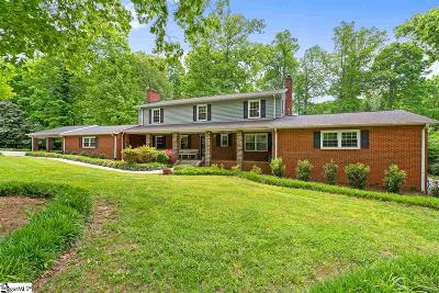 Greenville Single Family Home For Sale: 104 Stone Lake