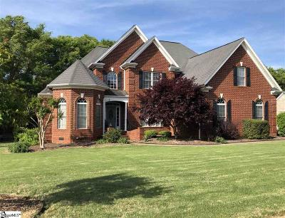 Anderson Single Family Home For Sale: 121 Shire