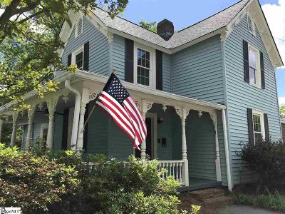Laurens Single Family Home Contingency Contract: 114 Martin