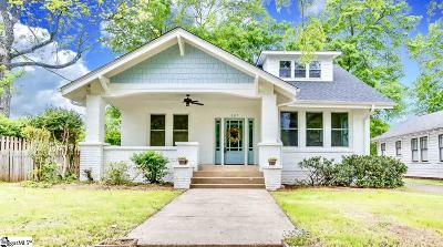 Greenville Single Family Home Contingency Contract: 107 Robinson