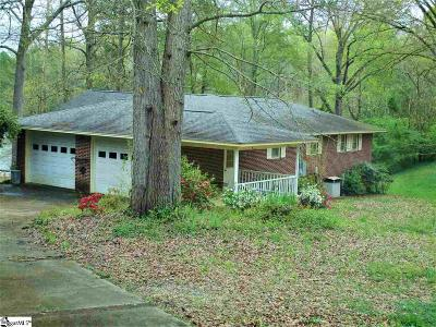 Anderson Single Family Home For Sale: 4621 Pine Needle