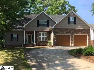Greenville County Single Family Home Contingency Contract: 3 Grouse Ridge