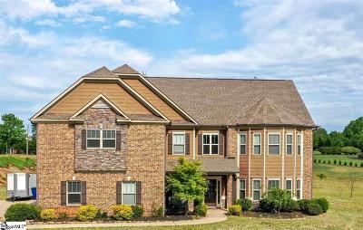 Simpsonville Single Family Home For Sale: 54 Alexander Manor