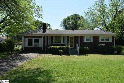 Boiling Springs Single Family Home For Sale: 890 Old Furnace