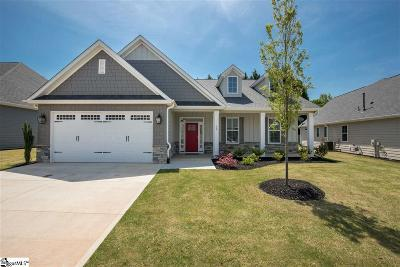 Greenville County Single Family Home For Sale: 16 Jackson Parc