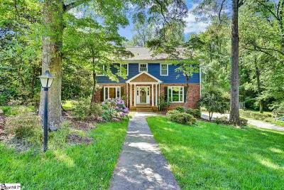Greenville Single Family Home For Sale: 108 Hunting Hollow